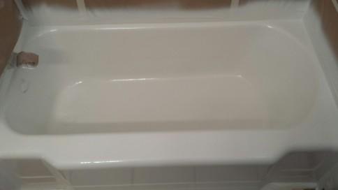 bathroom, shower, tile refinishing & glaze: grand haven, holland